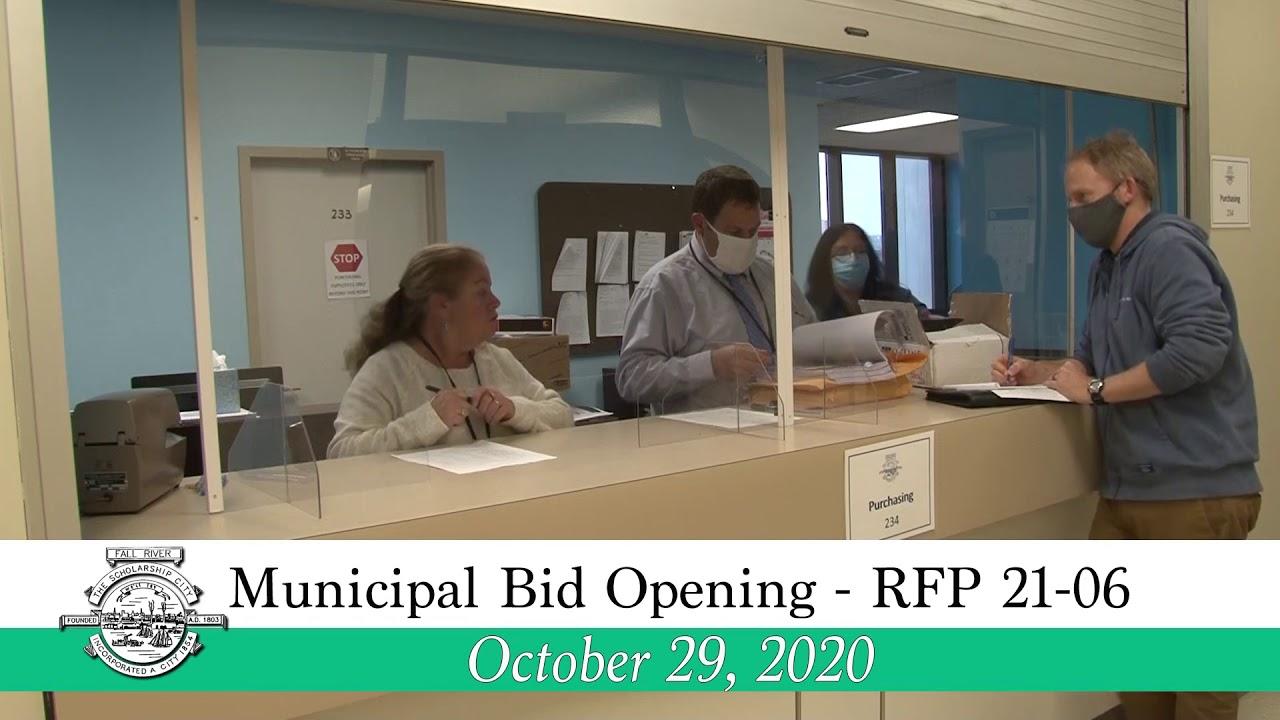 9.9.9 Municipal Bid Opening RFP 9 9