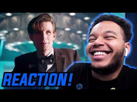 "Doctor Who Season 7 Episode 6 ""The Bells Of Saint John"" REACTION!"