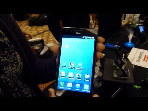 Samsung Infuse 4G Demo