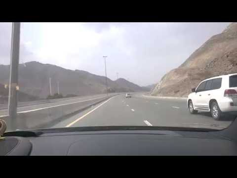 Dubai Hill Station (Must watch): Fujairah - A ride from Fujairah to Sharjah