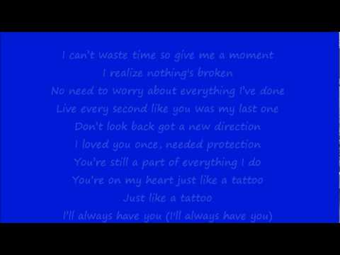 Jordin sparks tattoo lyrics original version youtube for Jordin sparks tattoo song lyrics