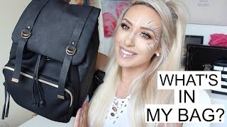 WHATS IN MY BAG | DramaticMAC