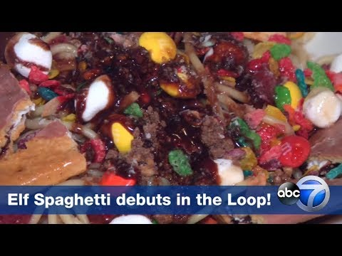 Katie Sommers - Restaurant Now Serves 'Elf'-Inspired Spaghetti