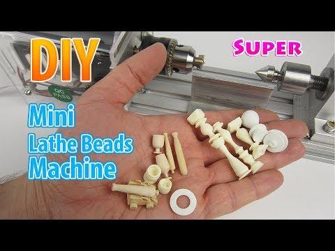Very Easy Mini Lathe Beads Machine | For DollHouse
