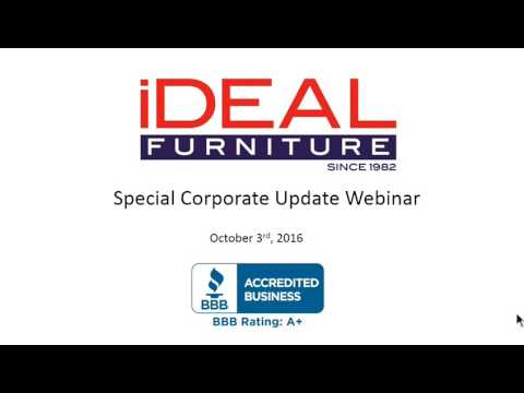New Economy Marketing Group -iDealFurniture/BigTicketBroker Corporate Update