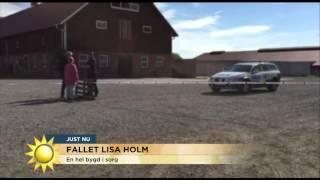 En bygd i sorg efter Lisa Holm - Nyhetsmorgon (TV4)