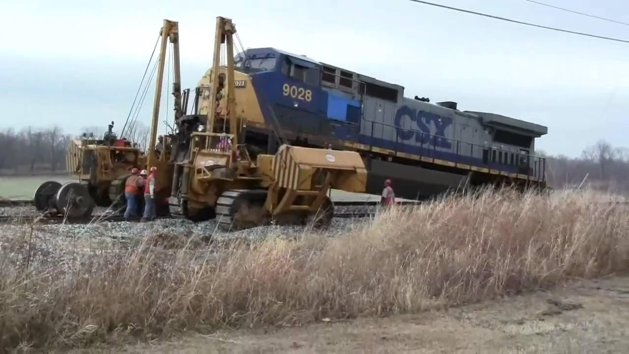 CSX locomotive 612 has a bad traction motor - YouTube