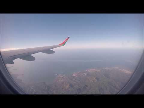 Take off Dzaoudzi Mayotte