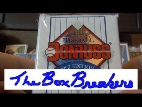 1993 Donruss Baseball Cards Unboxing Series 1 Diamond Kings Insert Cards Psa Grading Process Part 1