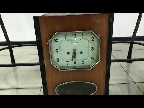 Часы с боем настенные Советские Янтарь