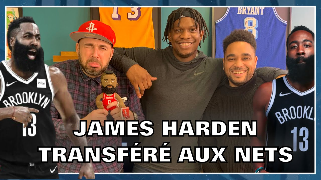 JAMES HARDEN TRANSFÉRÉ AUX BROOKLYN NETS ! NBA First Day Show #109