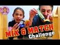 MIX and  MATCH Food Challenge - Mileys Welt