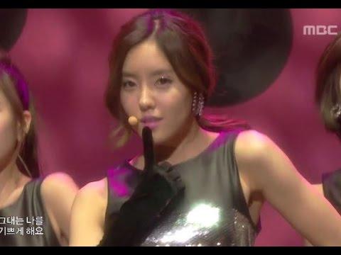 T-ARA - Like The First Time, 티아라 - 처음처럼, Music Core 20100123