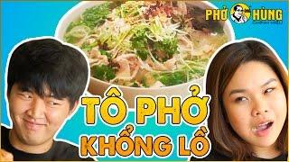 THỬ THÁCH PHỞ ÔNG HÙNG KHỔNG LỒ cùng SONGTHU CHANNEL | Pho Noodle Soup Challenge