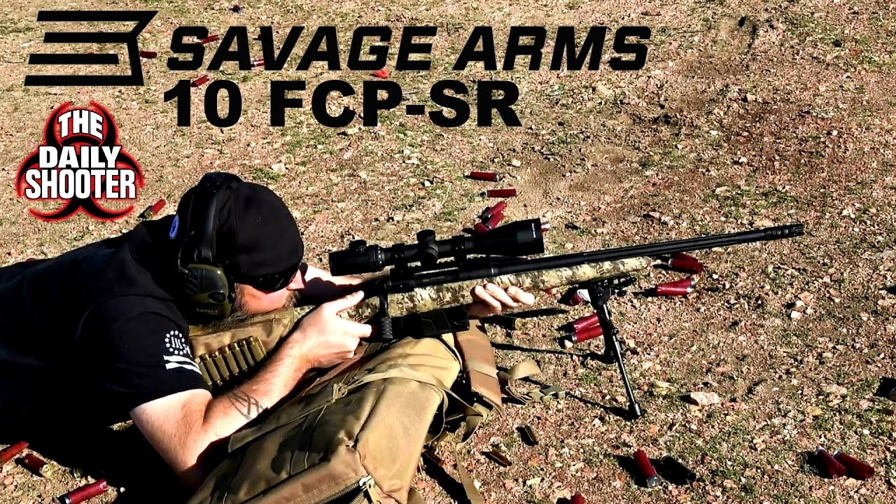 Savage 10 FCP SR .308 Review and Testing Kryptek Camo