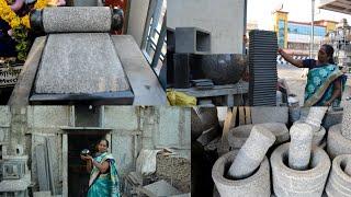MYSHOOPING VLOG BEST PLACE IN CHENNAI ஆட்டுக்கல் அம்மிக்கல் வாங்கலாம் வாங்க  MORTAR & PESTLE