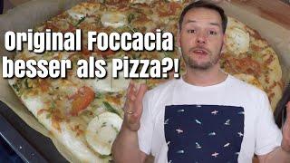 ORIGINAL FOCCACIA | BESSER ALS PIZZA?! | Florian Mennen