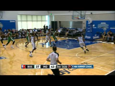 NBA Summer League: Indiana Pacers Vs Boston Celtics