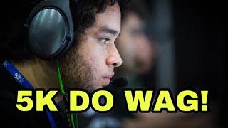 Wag da NiP ficou sozinho contra 5 no Oregon e conseguiu eliminar os...