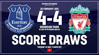 Everton 4-4 Liverpool | Full Match | Score Draws | FA Cup 1990/91