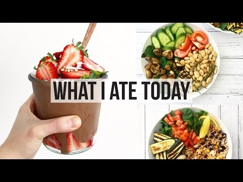 WHAT I ATE TODAY #51   VEGAN