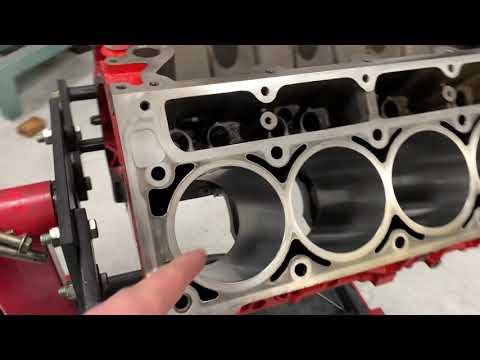 Properly cleaning your engine before assembly.