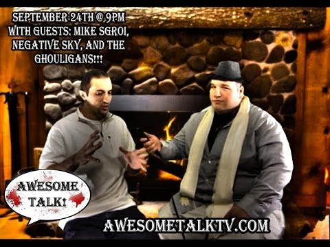 AWESOME TALK! Mike Sgroi Stand Up & Interview from S.1 Ep #6 - 9.24.13