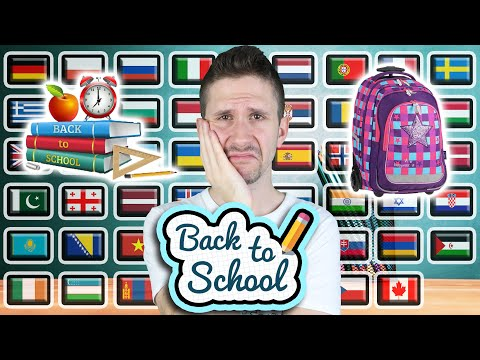 "How To Say ""BACK TO SCHOOL!"" in 50 Different Languages"