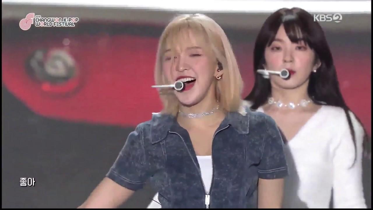 """Red Velvet """"Umpah Umpah"""" in 2019 Changwon K-POP World Festival"""