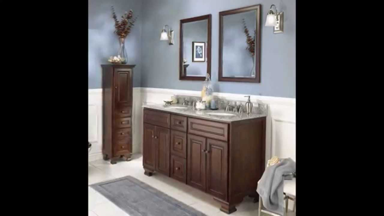 the cool lowes bathroom vanity youtube - Bathroom Cabinets At Lowes