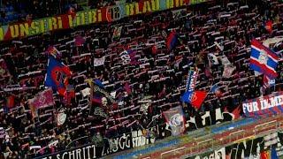 Fans: FC Basel Fans gegen Lausanne - 09.09.2017