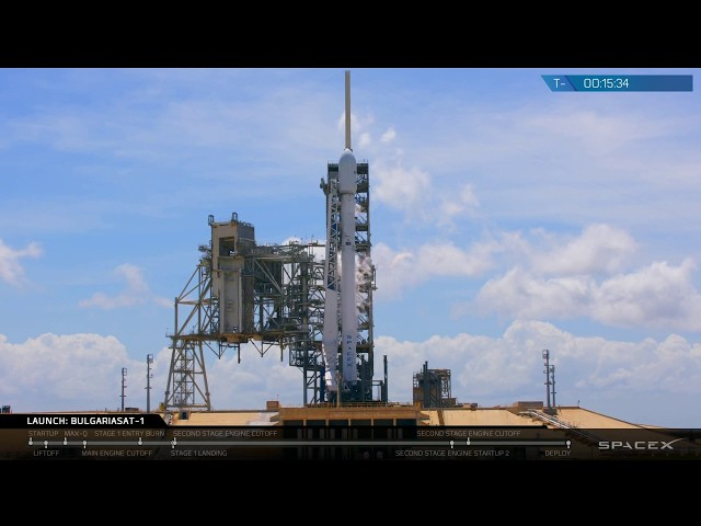 BulgariaSat-1 Launch Webcast