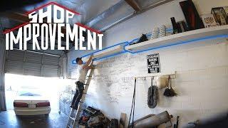 THE ULTIMATE SHELF PROJECT! - Shop Improvement episode 7