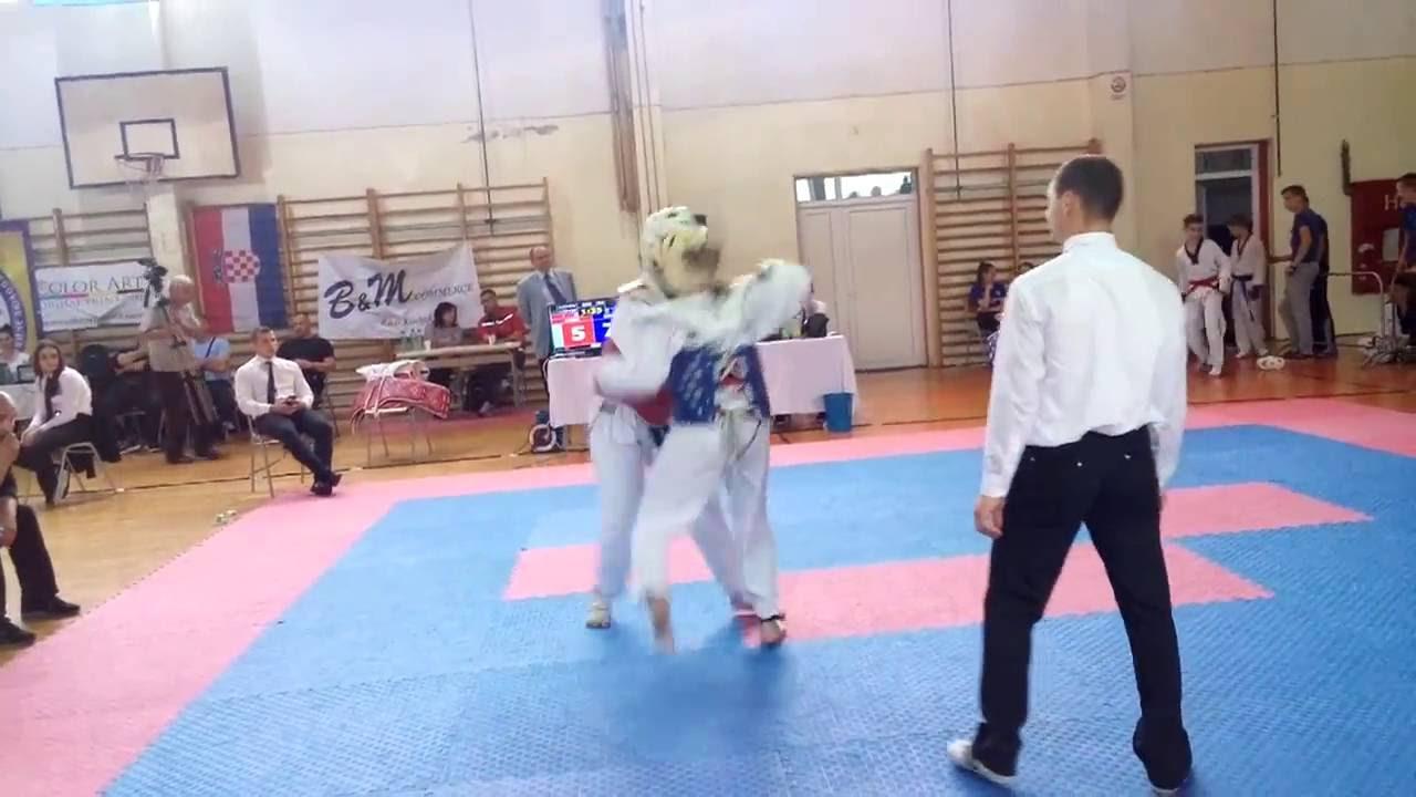 Color art fojnica - Emina Abazovic Taekwondo Akademija Olovo Fojnica Open 5 6 2016
