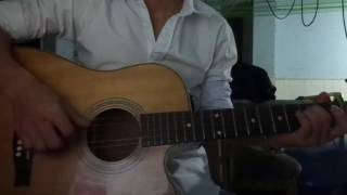 Melancholy guitar
