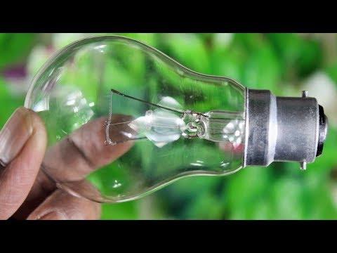 ফিউস বাল�ব দিয়ে চমৎকার �ক�য়ারিয়াম বানানো শিখ�ন   Best Use Of Electric Fuse Bulb