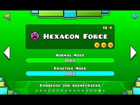 Geometry Dash - Hexagon Force 100% Complete