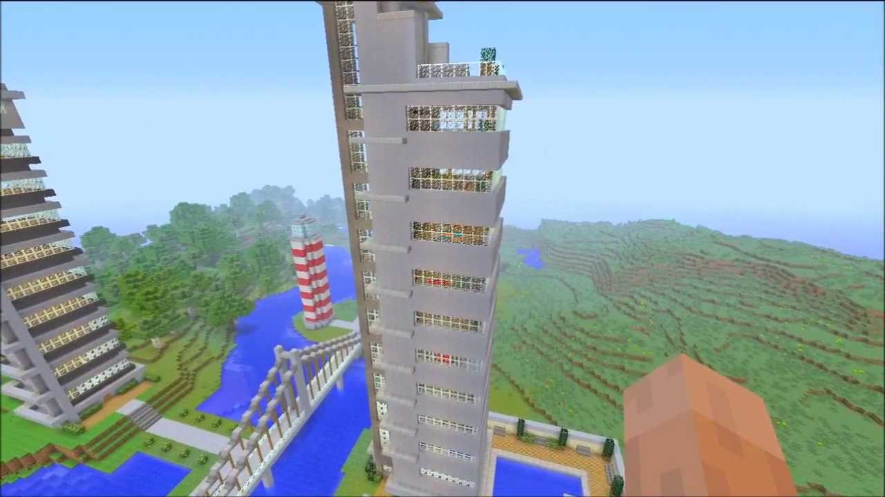 Minecraft xbox 360 cool building designs youtube for What is needed to build a house