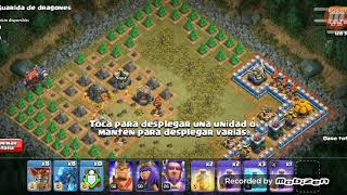 Mate al dragon gigante y 3 estrellas Clash of clans