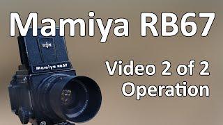 Відео Мамия RB67 інструкція 2 з 2: Операція
