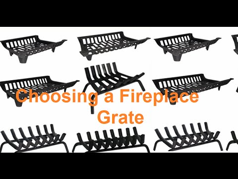 How To Choose a Fireplace Grate - How To Choose A Fireplace Grate - YouTube
