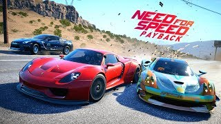 Need For Speed Payback | FINAL MISSION & Ending (Final Boss Race, Porsche 918 Spyder vs. McLaren P1)