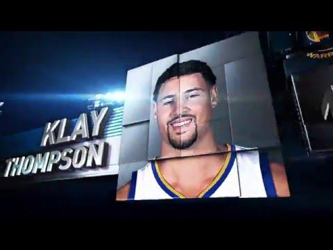 Klay Thompson: 2016 Foot Locker 3-Point Contestant