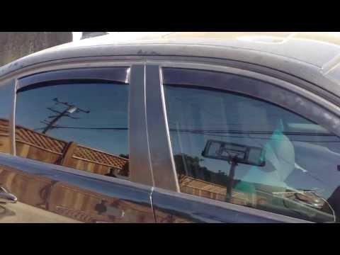 Window Deflectors Installation BMW 5 Series 3 Series E90 E39 528I 328I M5 M3
