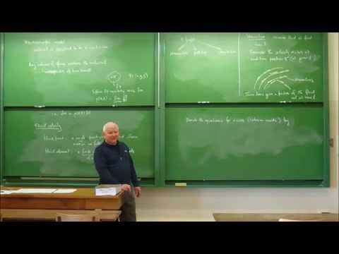 Astrophysical Fluid Dynamics: Lecture 1 of 15