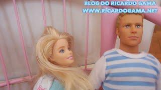 Pequena Sereia Ariel Barbie Médica Elsa Filme Frozen Cinderela Boneca  Boneco Ken aventuras