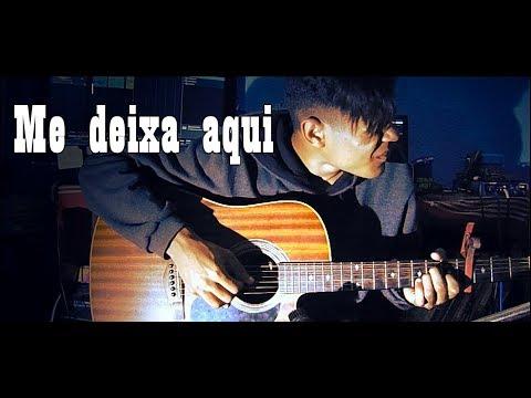 (Preto no Branco) Me Deixe Aqui ft.Priscilla Alcântara (Violão SOLO cover) Fingerstyle
