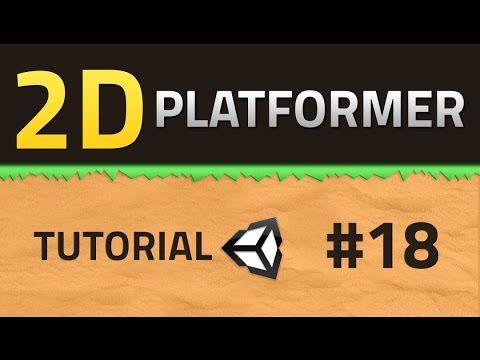 18  How to make a 2D Platformer - CAMERA SHAKE - Unity Tutorial