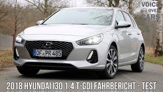 2018 Hyundai i30 1.4 T GDI Fahrbericht Test Review Kofferraum Check Voice over Cars Meinung смотреть