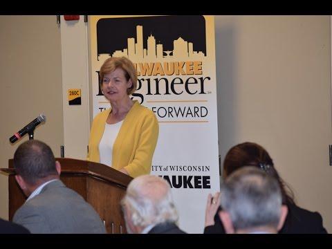 U.S. Sen. Tammy Baldwin at Milwaukee Engineering Research Conference